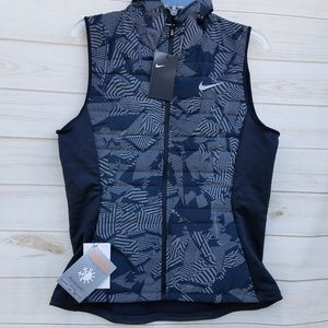 NEW Nike Thermosoft reflective vest M